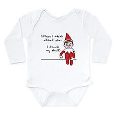 Unique Shelf Long Sleeve Infant Bodysuit