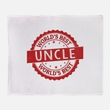 World's Best Uncle Throw Blanket