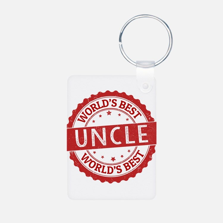 World's Best Uncle Keychains