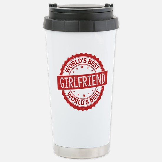 World's Best Girlfriend Stainless Steel Travel Mug