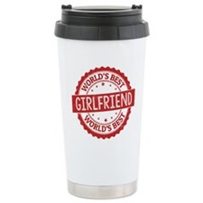 World's Best Girlfriend Travel Mug