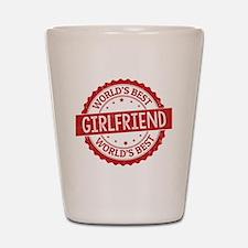 World's Best Girlfriend Shot Glass