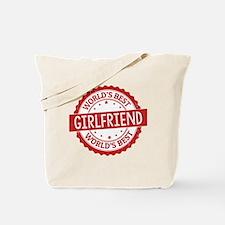 World's Best Girlfriend Tote Bag