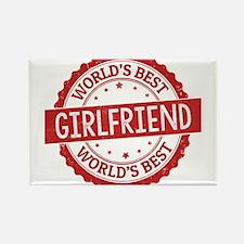 World's Best Girlfriend Magnets