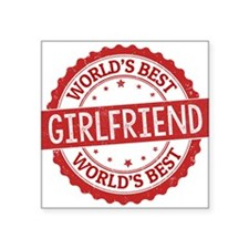 World's Best Girlfriend Sticker