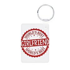 World's Best Girlfriend Keychains