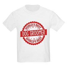 World's Best Dog Groomer T-Shirt