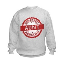 World's Best Aunt Sweatshirt