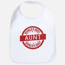 World's Best Aunt Bib