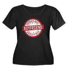 World's Best Boyfriend Plus Size T-Shirt