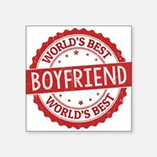 World's Best Boyfriend Sticker