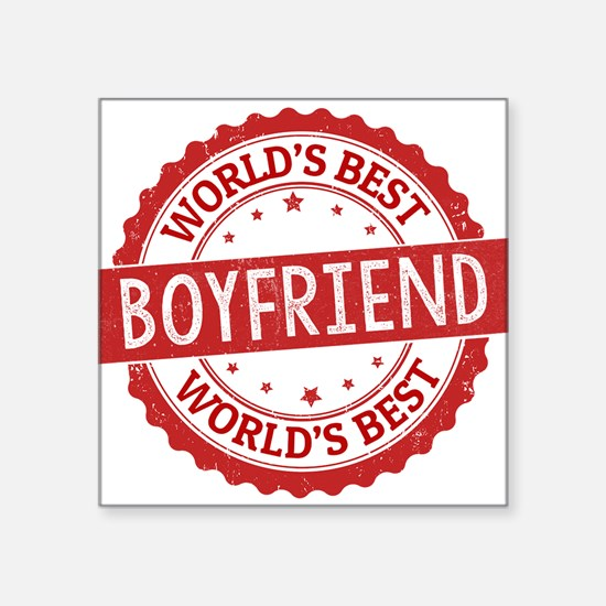 World's Best Boyfriend Sticker