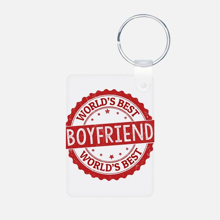 World's Best Boyfriend Keychains