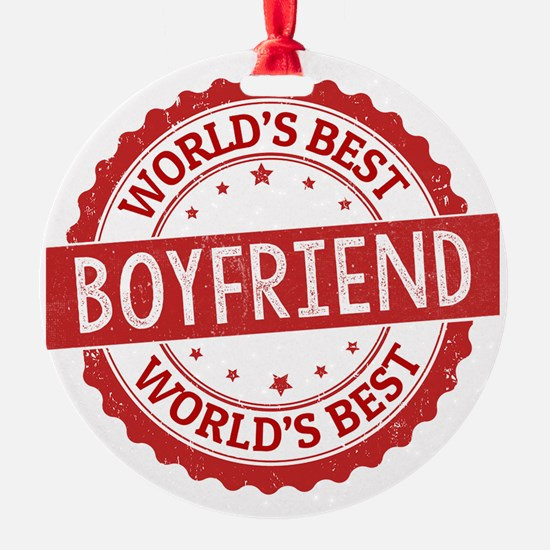 World's Best Boyfriend Ornament