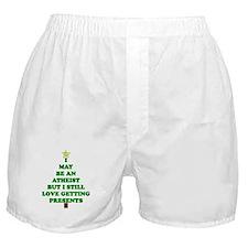 Atheist Holiday Tree Boxer Shorts