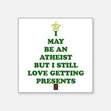 Atheist Holiday Tree Sticker