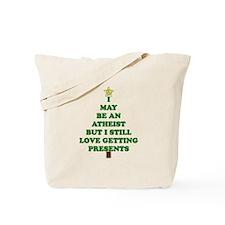 Atheist Holiday Tree Tote Bag