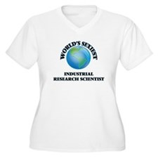 World's Sexiest Industrial Resea Plus Size T-Shirt