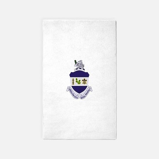 151st Infantry Regiment Patch Milit 3'x5' Area Rug