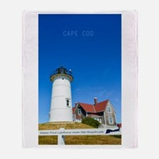 Cape Cod. Throw Blanket