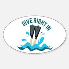 Dive Right In Decal