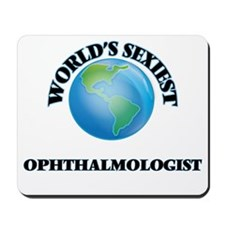 World's Sexiest Ophthalmologist Mousepad