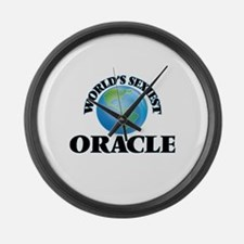 World's Sexiest Oracle Large Wall Clock