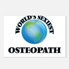 World's Sexiest Osteopath Postcards (Package of 8)