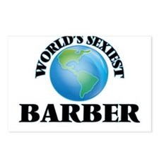 World's Sexiest Barber Postcards (Package of 8)