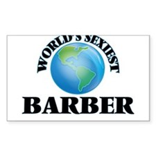 World's Sexiest Barber Decal