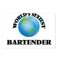 World's Sexiest Bartender Postcards (Package of 8)