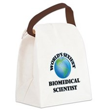 World's Sexiest Biomedical Scient Canvas Lunch Bag
