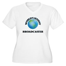 World's Sexiest Broadcaster Plus Size T-Shirt
