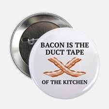 "Duct Tape Of The Kitchen 2.25"" Button"