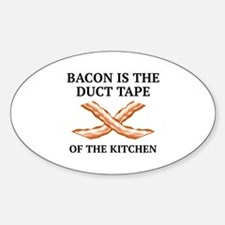 Duct Tape Of The Kitchen Sticker (Oval)