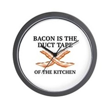 Duct Tape Of The Kitchen Wall Clock