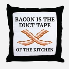 Duct Tape Of The Kitchen Throw Pillow