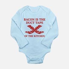 Duct Tape Of The Kitchen Long Sleeve Infant Bodysu