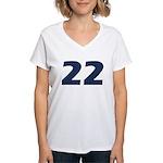 Tease 22 Women's V-Neck T-Shirt