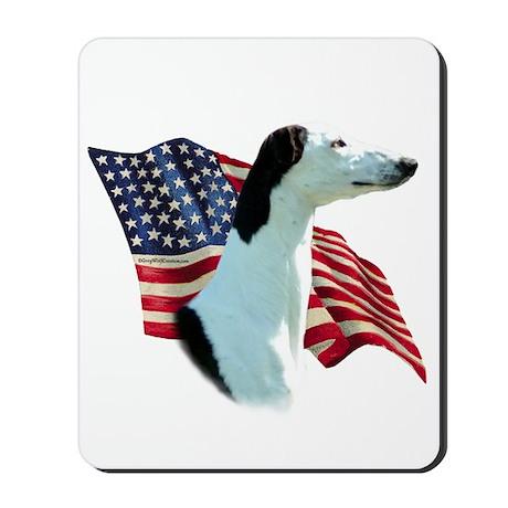 Greyhound Flag Mousepad