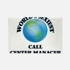 World's Sexiest Call Center Manager Magnets