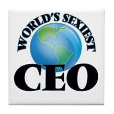 World's Sexiest Ceo Tile Coaster