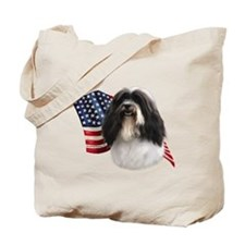 Havanese Flag Tote Bag