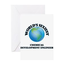 World's Sexiest Chemical Developmen Greeting Cards