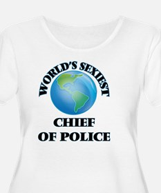 World's Sexiest Chief Of Police Plus Size T-Shirt