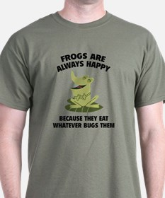 Frogs Are Always Happy T-Shirt