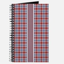 Country Plaid with Stripe Journal