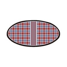 Country Plaid with Stripe Patches