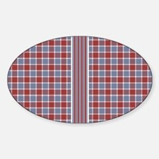 Country Plaid with Stripe Decal