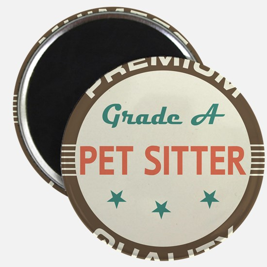 Pet Sitter Vintage Magnet